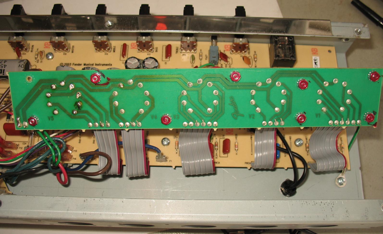 Hoffman Blues Junior Tube Board Circuit Eyelets