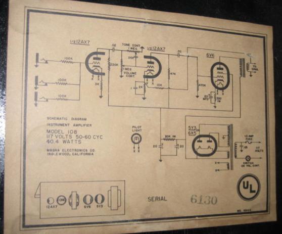 magnatone schematics