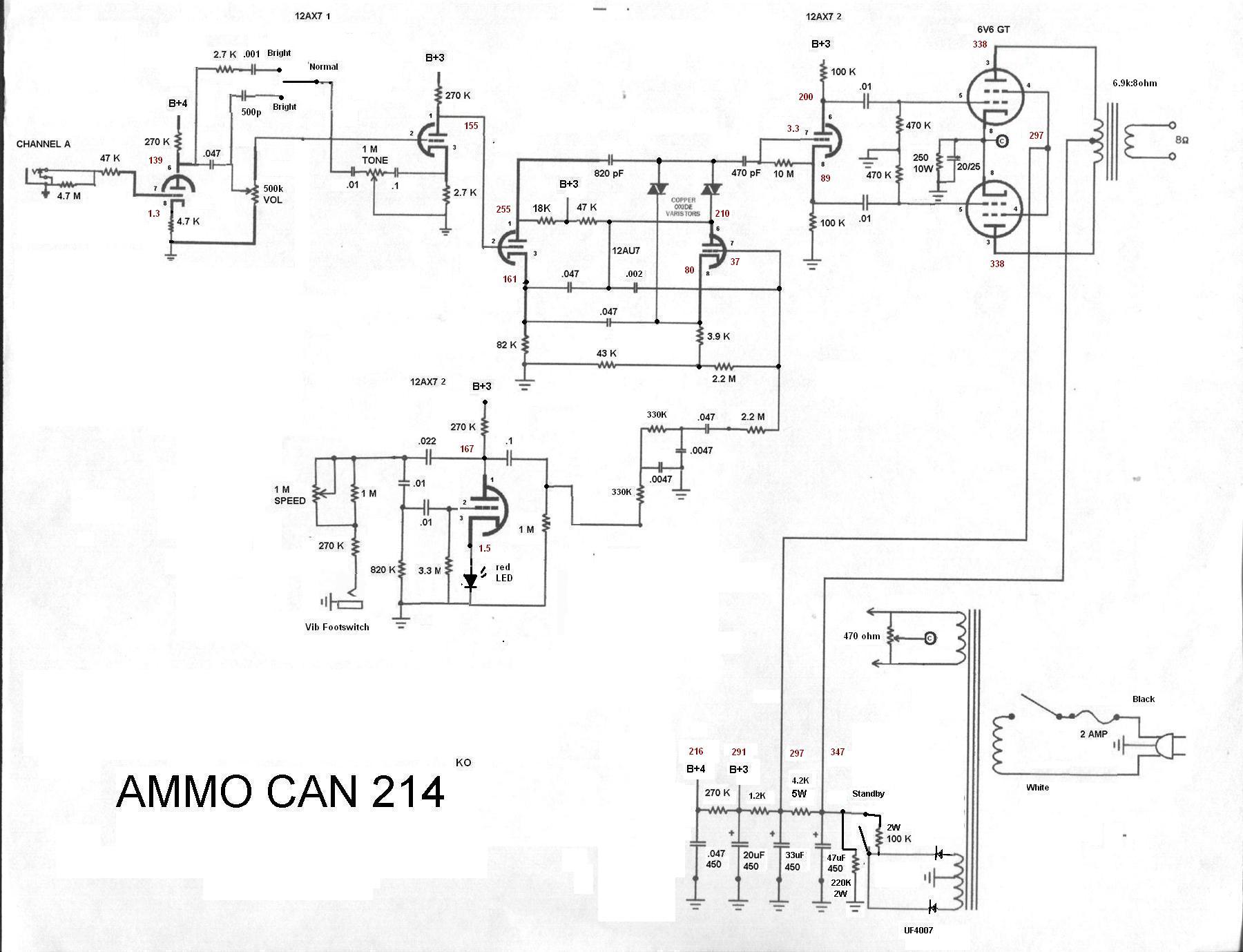 Magnatone Schematics Tube Amp Schematics