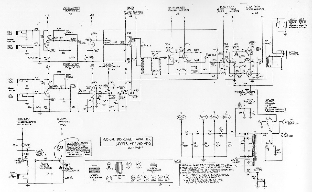 Magnatone Amp Schematic Schematics Wiring Diagram Tube Custom Guitar Amps 55 Mp3 5 214 Kb