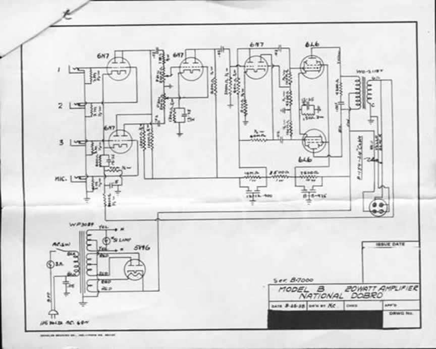 valco schematics