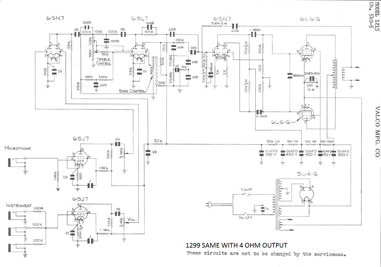 National Amp Schematic   Fusebox and Wiring Diagram wires bacon ...