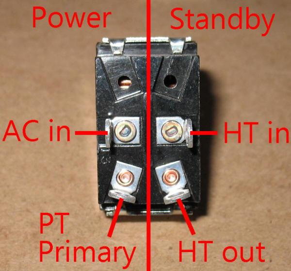 Dpst Wiring Information