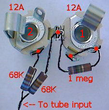 new shorted inputs for a tube amp audiokarma home audio stereo rh audiokarma org Stereo Input Jack Wiring Diagram Guitar Amp Schematic